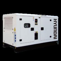 Máy phát điện công nghiệp 3pha 55KVA. Hyundai DHY-60KSE