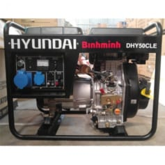 Máy phát điện dân dụng chạy dầu diesel 2.7kw 1pha. Hyundai DHY-36CLE