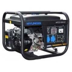 Máy phát điện gia đình, văn phòng chạy xăng 2.5kw đề nổ. HYUNDAI HY-3100LE