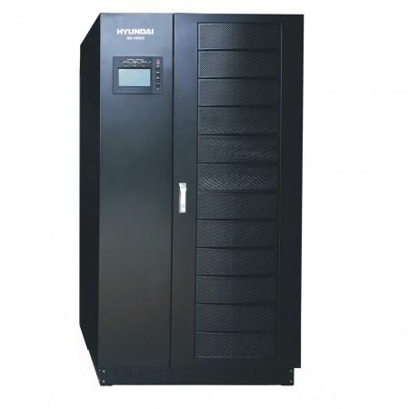 BỘ LƯU ĐIỆN (UPS) ONLINE 3PHA VÀO, 1PHA RA. HYUNDAI HD-15K2 (15KVA)