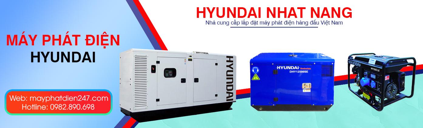 Máy phát điện Huyndai Nhật Năng