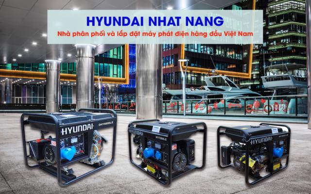 Máy phát điện chạy xăng Hyundai Nhật Năng